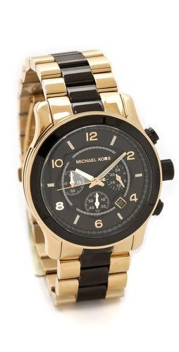 MK Two Tone Watch