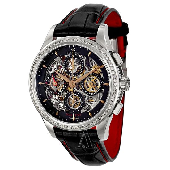 Perrelet Chronograph A1010-12 Men's Watch