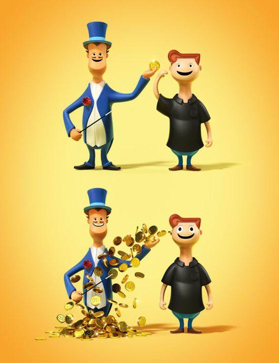 3D Cartoon Characters #3D #character