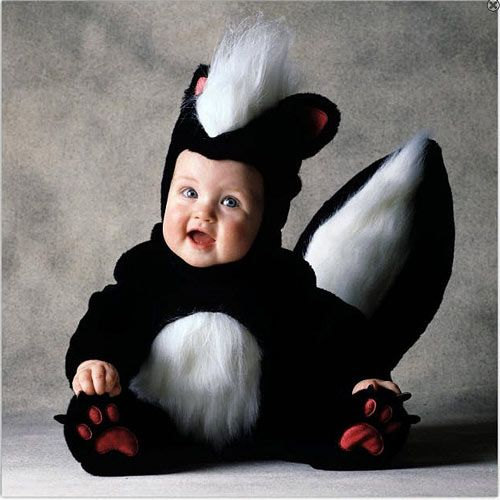 Very Elegant Baby Halloween Photography