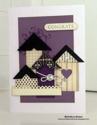 "Cute ""happy new home"" card idea"