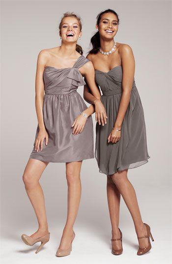 Jenny Yoo Collection Convertible Shantung Dress