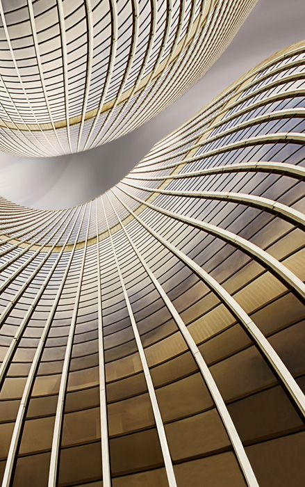 Curvy architectural lines