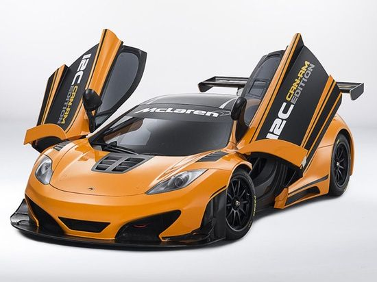 2013 McLaren 12C Can-Am Edition #ferrari vs lamborghini #luxury sports cars #customized cars #sport cars #celebritys sport cars