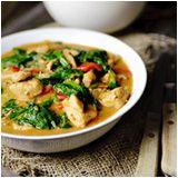 Chicken Palava (African peanut stew)