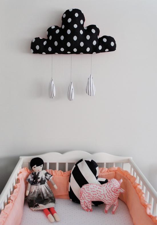 Cloud nursery art!