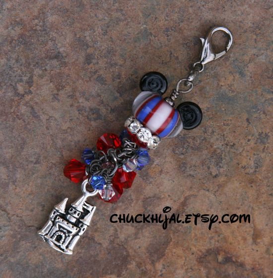 American Patriotic Mickey Style Disney Inspired by chuckhljal, $35.00