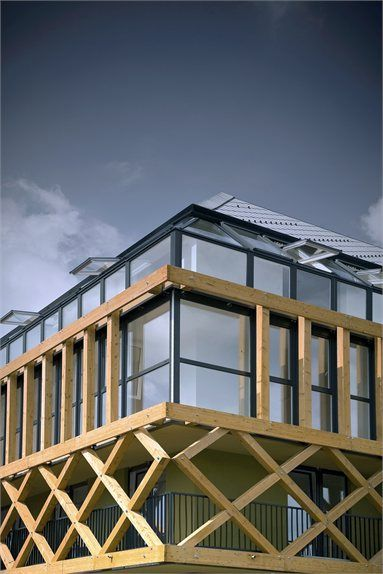 Hayrack #Apartments - Cerklje na Gorenjskem, #Slovenia - 2007 - OFIS Architekti #architecture
