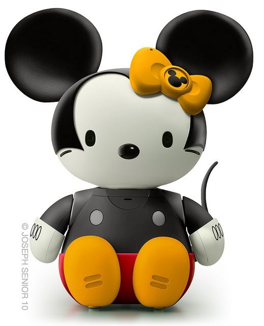 Mickey mouse kitty
