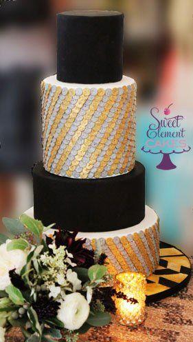 #weddings #cakes {Sweet Element}
