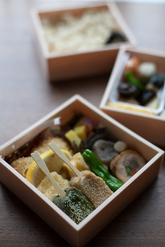 Japanese lunch box: photo by minato, via Flickr