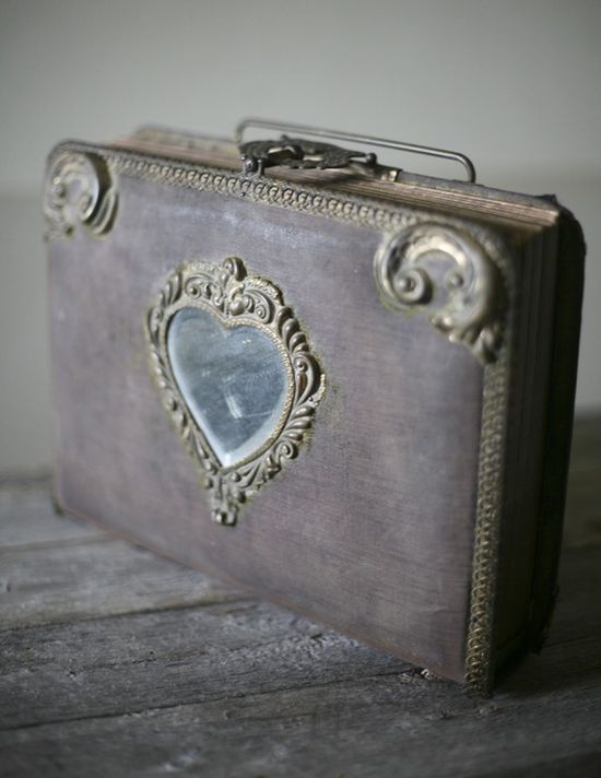 Victorian photo album ~ Would love to see what's in it!  Beautiful!
