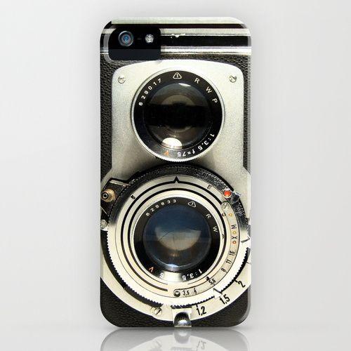 Vintage Camera iPhone Case by Ewan Arnolda #iPhone_Case #Camera