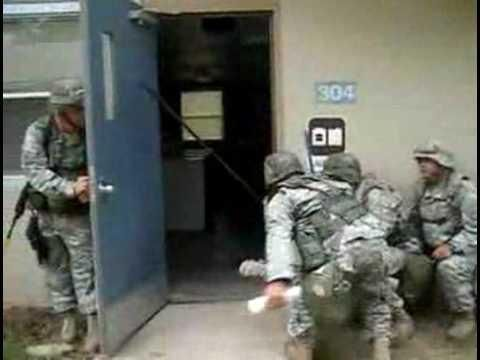 How US Soldiers Clean The Laundry Room - #funny