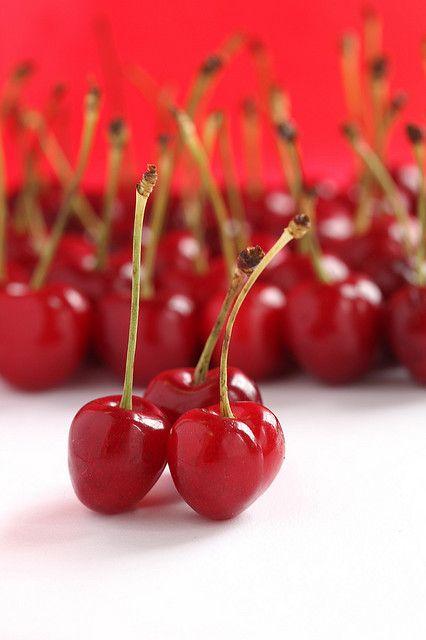 red cherries