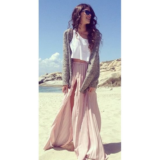 maxi skirt//