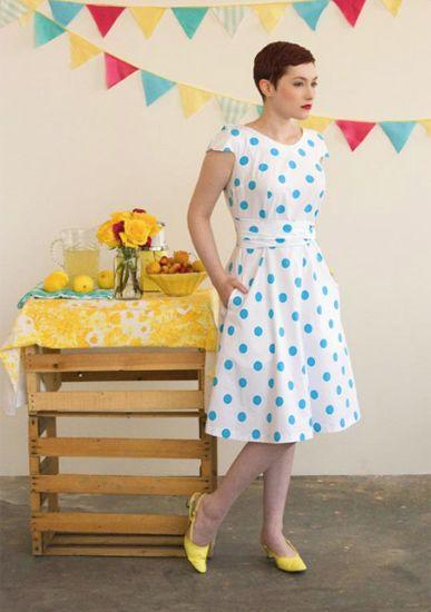 Crepe Dress Pattern
