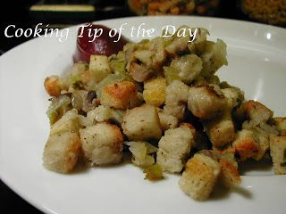 Cooking Tip of the Day: Bread Stuffing
