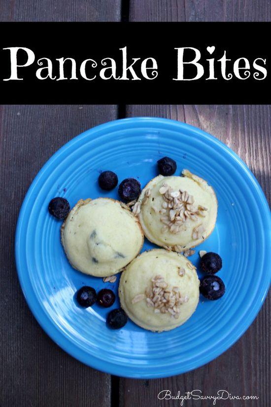 Pancake bites :)