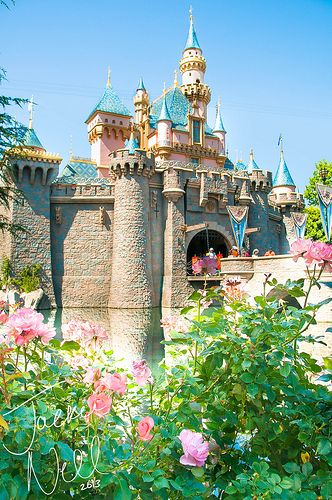 Sleeping Beauty's Castle in late spring!