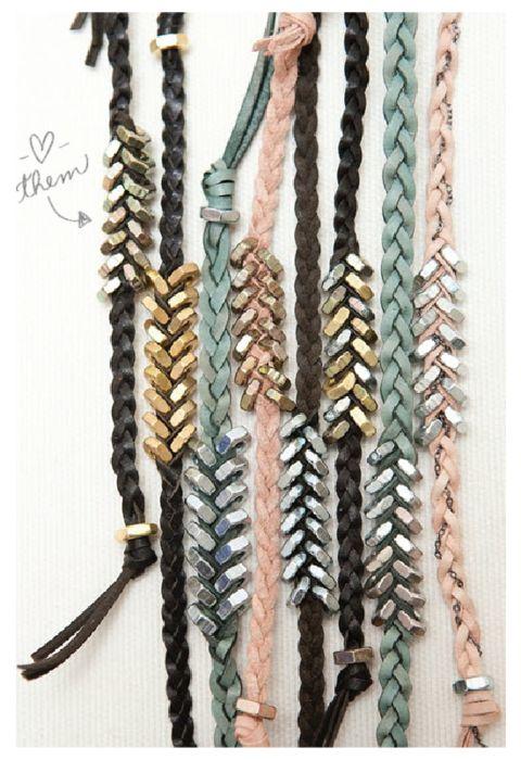 //diy bracelet....someone do it for me please!!