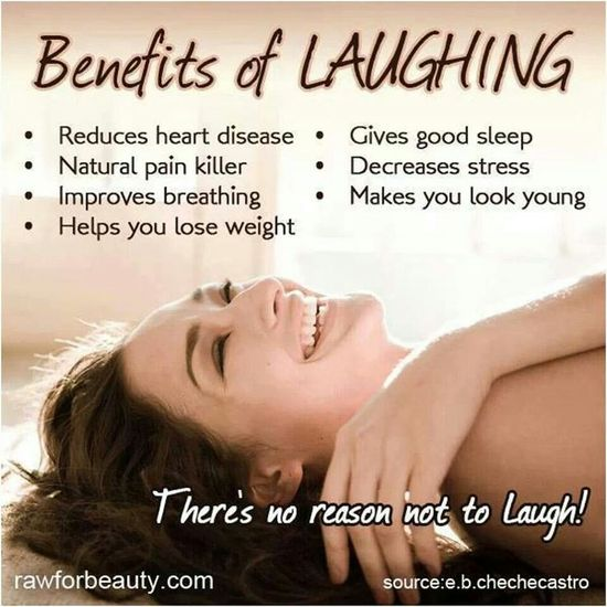 There's no reason not to laugh! #health #tip #happiness