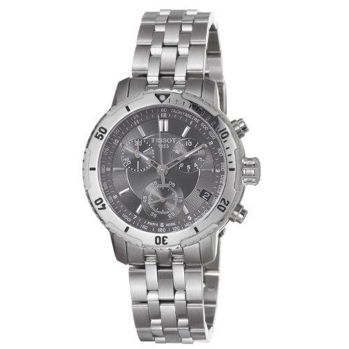 Tissot PRS 200 Chronograph Black Dial Quartz Sport Mens Watch T0674171105100 $370.49