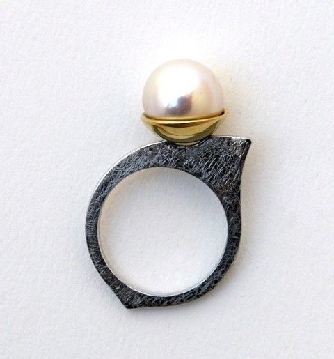 #ring #jewelry #pearl