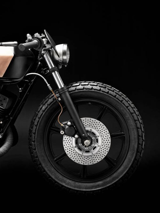 "YAMAHA RD 400 ""CLUB BLACK #03"" by Wrenchmonkees"