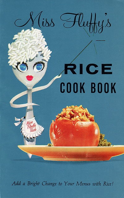 "Vintage cook books .. ""Miss Fluffy's"""