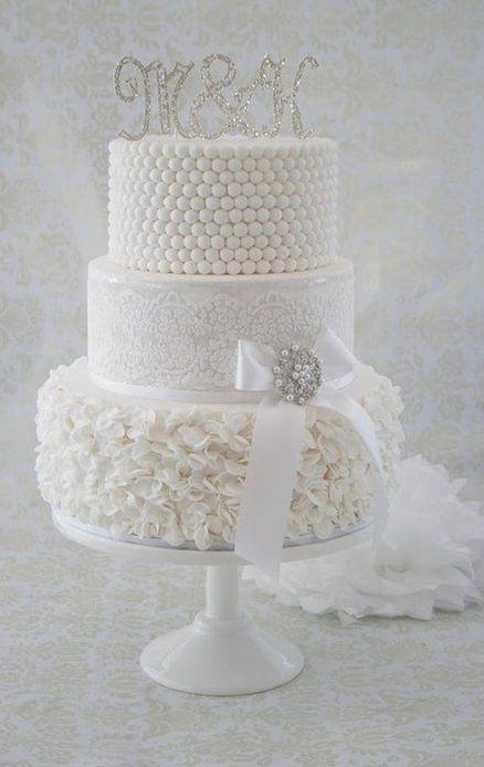 White wedding cake ?