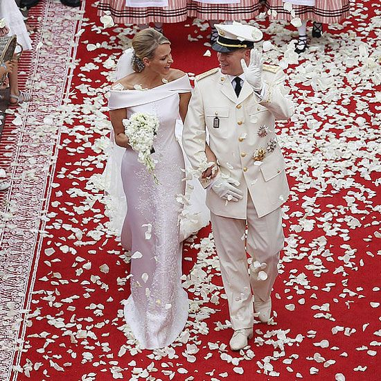 Prince Albert and Princess Charlene of Monaco tied the knot on July 2, 2011.