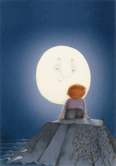 talk to the man in the moon