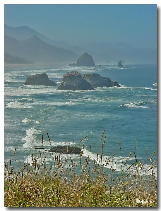 Oregon==one of the scenic places on the coast.