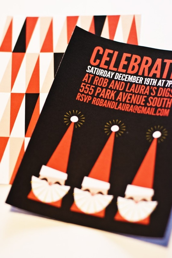 Invitations de noel a imprimer pour un cocktail de fin d'année