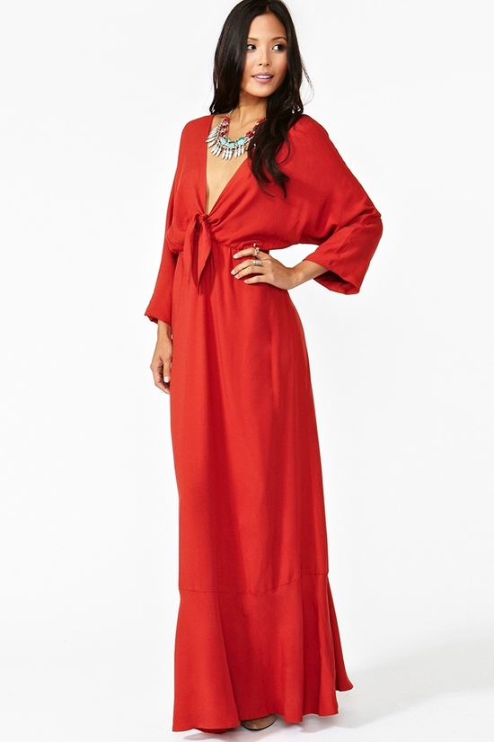 Baby It's You Maxi Dress