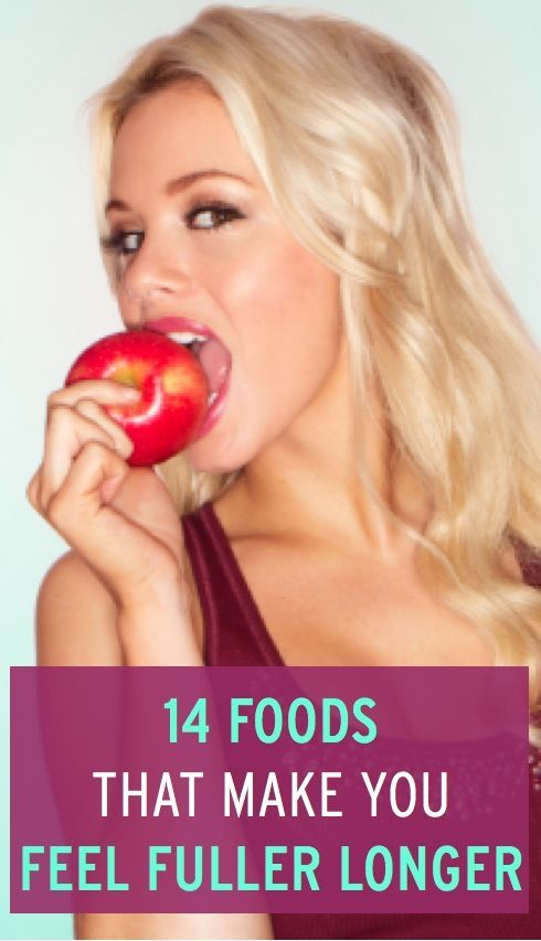 14 foods (plus expert tips on how to best combine them) to make you feel fuller for longer. Great for weight loss & weight #food for health