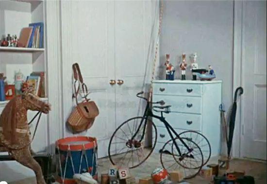 vintage set for christopher robin's room