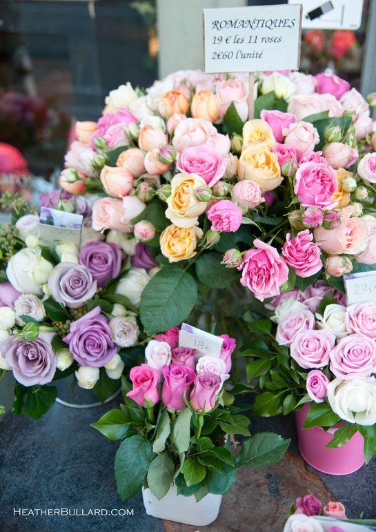Beautiful Flowers in Paris