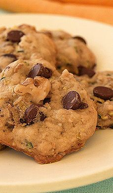 Zucchini and Chocolate Chip Cookies