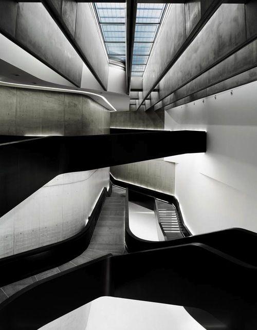 MAXXI Museum in Roma, Italy by Zaha Hadid