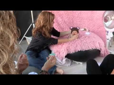 Newborn Baby Photoshoot setup