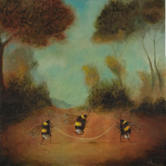 """Animal Painting - """"The Workers' Playtime"""""""