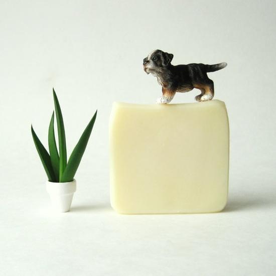 Tea Tree Lime Soap - Vegan Handmade Soap by prunella soap