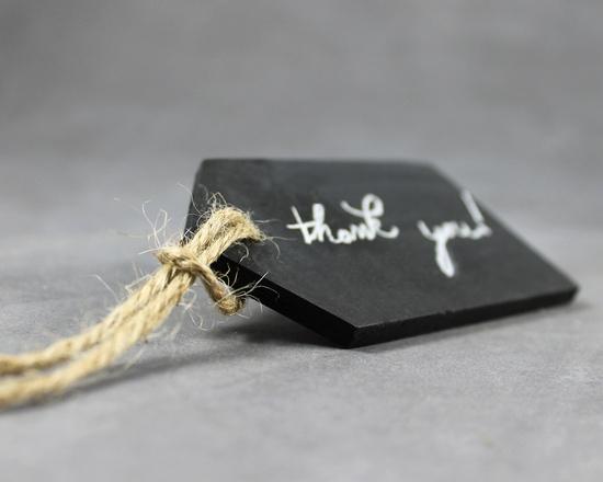 chalkboard tags set