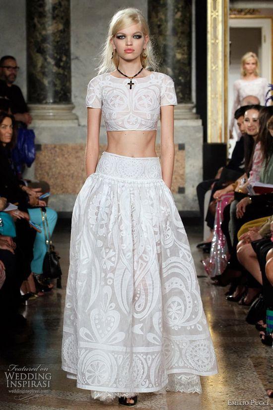 Emilio Pucci Spring/Summer 2012 RTW  ----  Love this!
