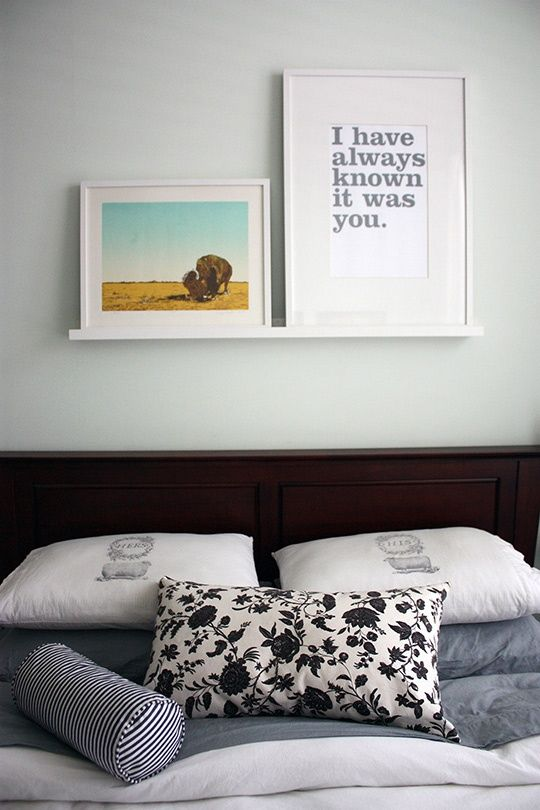 Day 6: Choose a Piece of Artwork & Get Going on Framing It Apartment Therapy January Cure