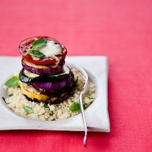 Veggie Stack with Basil