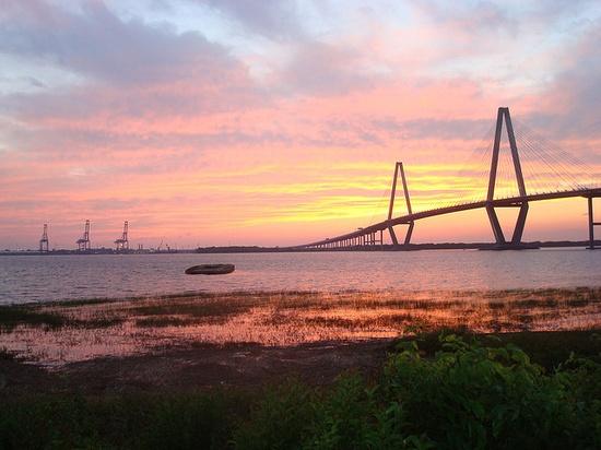 Arthur Ravenel Bridge in Charleston SC