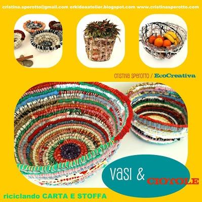 Fabric bowl - handmade gift idea...